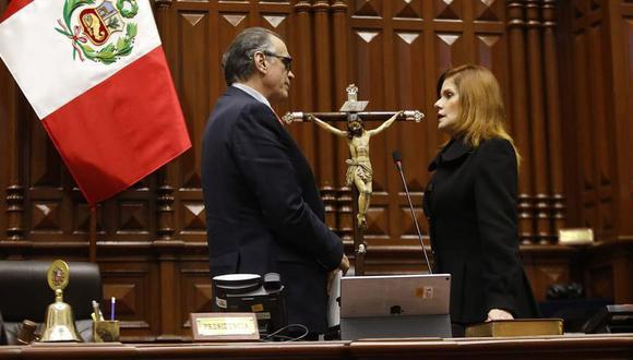 El vocero de la bancada del Frente Amplio indicó que presentarán una denuncia constitucional contra Mercedes Araoz. (Foto: Congreso de la República)