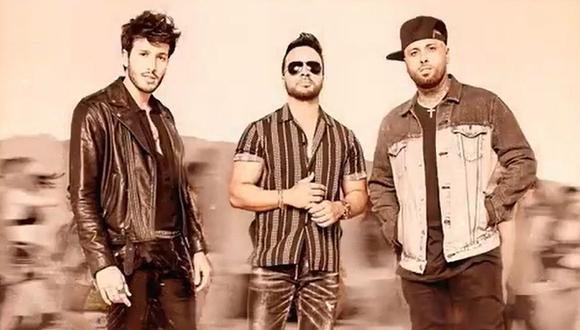 """Sebastián Yatra anuncia el lanzamiento del tema """"Date la vuelta"""" junto a Luis Fonsi y Nicky Jam. (Foto: Universal Music)"""