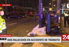 Chorrillos: un niño de siete años y chofer de mototaxi fallecieron tras choque con camioneta