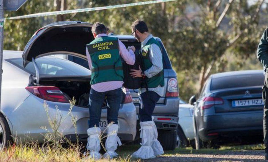 En el operativo de búsqueda para localizar a la joven profesora Laura Luelmo participaron guardias civiles y vecinos.