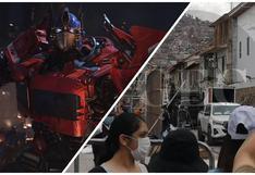 """""""Transformers"""": revelaciones de las grabaciones que convirtieron Cusco en el """"nuevo Cibertrón"""""""