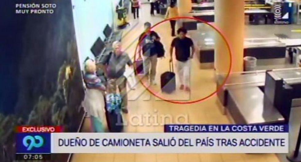 La salida de Perú de sospechoso de causar choque en Costa Verde