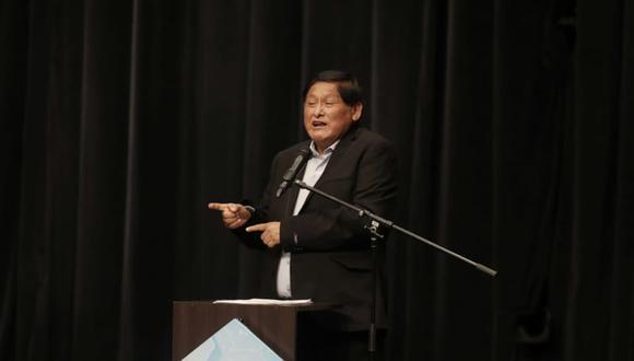 Juan Pari señaló que Perú Libre otorgará un sistema crediticio que beneficie a las mypes. (Foto: Renzo Salazar GEC)