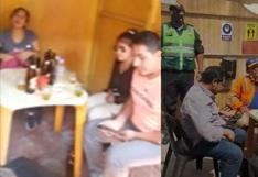 Arequipa: policía interviene bar clandestino que operaba en el distrito de Miraflores | VIDEO