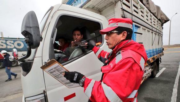 Nuevo sistema de control para detectar irregularidades en vehículos en la capital (MTC)