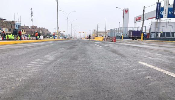 La Municipalidad de Lima detalló que el tránsito vehicular se restringirá totalmente durante las 24 horas en la avenida Colectora NN2, en el tramo comprendido entre la Carretera Central y la Av. NN1, en el sentido de este a oeste. (Foto: Andina - Referencial)