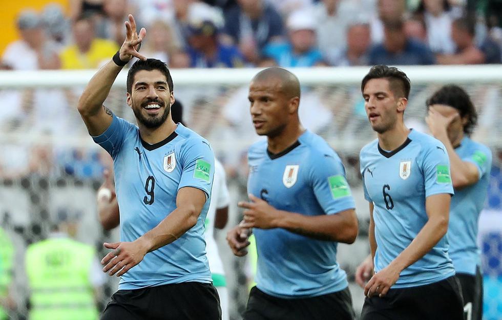 Los países que hayan clasificado a los cuartos de final de Rusia 2018 recibieron otros US$4 millones. Así, Uruguay y las otras selecciones que fueron eliminadas en esta fase embolsaron -en total- US$ 17,5 millones. (Foto: Reuters)