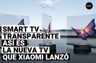 Así es el Smart Tv transparente de 55 pulgadas que Xiaomi ha lanzado al mercado