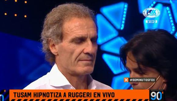 "Oscar Ruggeri es panelista de ""90 minutos de fútbol"". (Foto: captura de pantalla)"