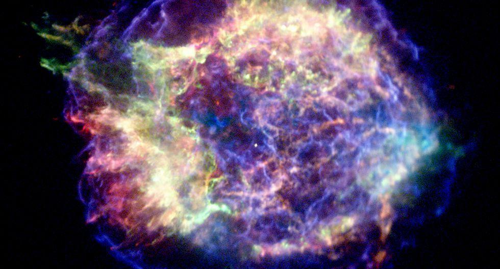 Supernova. (Foto: NASA)