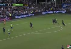 Raúl Ruidíaz se lució con gran jugada en el triunfo de Seattle Sounders | VIDEO