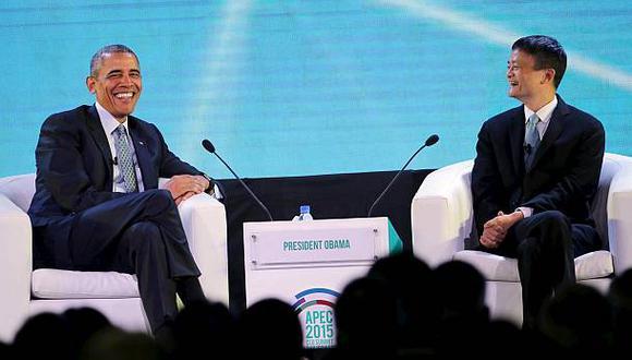 Obama bromeó con CEO de Alibaba en diálogo sobre emprendimiento