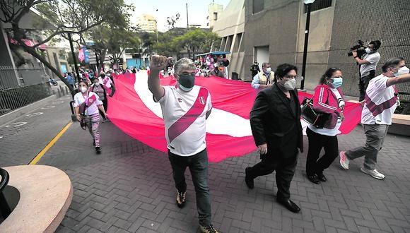La manifestación se realizará a partir de las 3:30 de la tarde. (Foto: archivo / Jesús Saucedo /GEC)