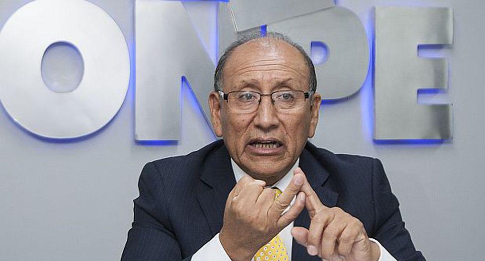 """ONPE: Ley sobre dádivas se emitió """"sin consistencia técnica"""""""