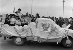 Fiestas Patrias: Caravana de escolares desfilan en Pueblo Libre