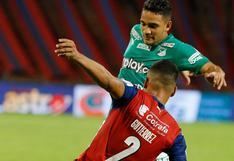 Deportivo Cali empató 1-1 ante Medellín por la Liga BetPlay de Colombia