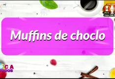 Receta de deliciosos muffins de choclo
