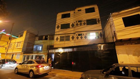 Robo en vivienda de El Agustino fue registrado por cámaras de seguridad. (Captura: César Grados/@photo.gec)