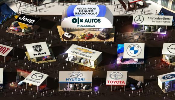 Feria automotriz Autópolis 2020. (Foto: Captura)