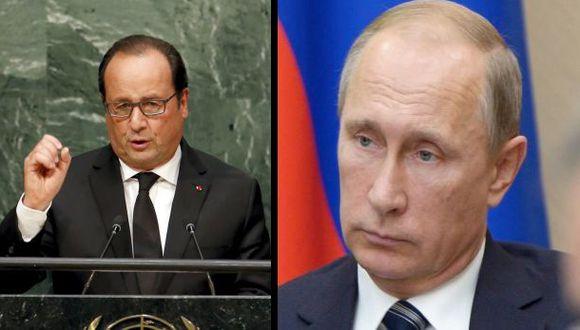 Francia duda que Rusia haya atacado al Estado Islámico en Siria