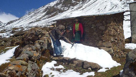 Temperatura descenderá hasta -18°C en zonas altoandinas sobre los 4 200 m.s.n.m. (Foto: Juan Sequieros)