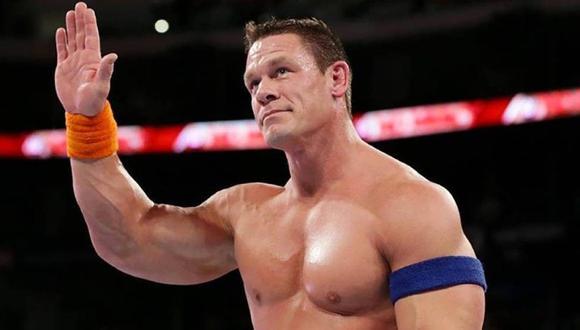 John Cena será el gran ausente en Wrestlemania 37. (Foto: WWE)