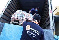Indeci garantiza entrega de ayuda humanitaria tras robo de víveres en almacén valorizados en S/1 millón