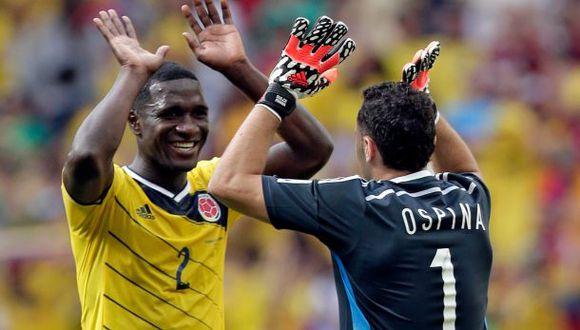 Colombia clasificó a octavos de final tras 24 años