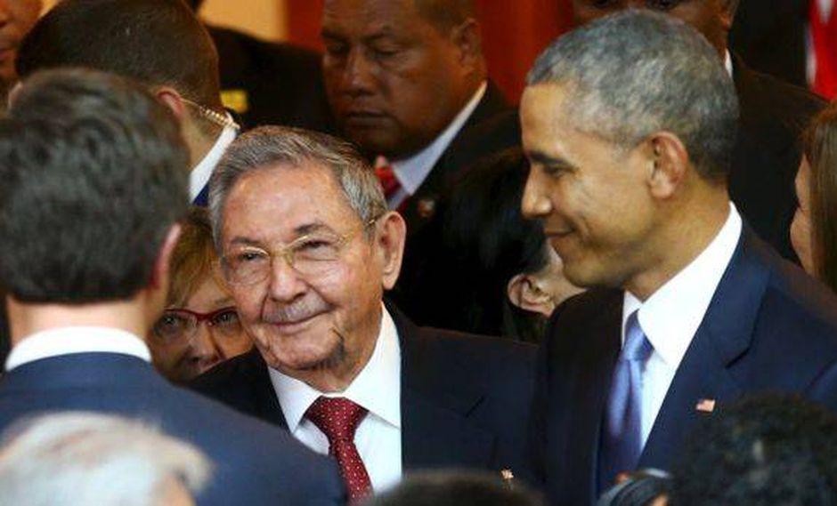 Castro en Panamá: Obama no tiene la culpa de sus 10 antecesores