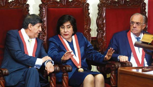 Marianella Ledesma asumió la presidencia del TC desde enero pasado. (Foto: Hugo Curotto / GEC)