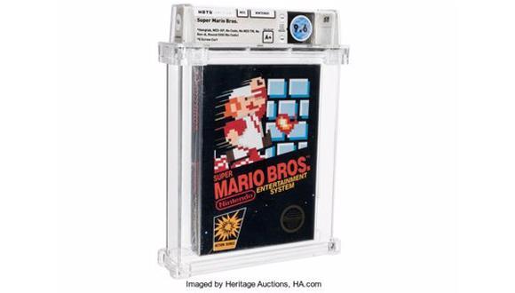 Imagen de la versión rara de 1986 del Super Mario Bros. (Difusión)