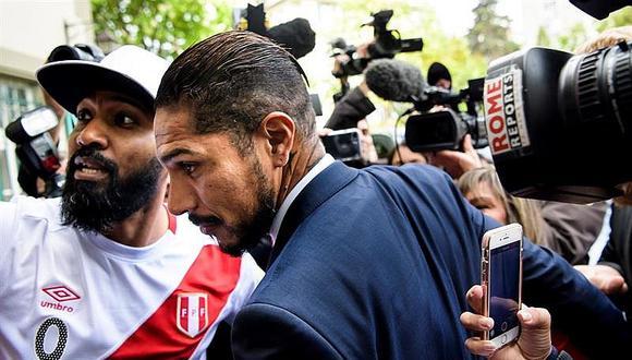 El delantero peruano Paolo Guerrero recibió un castigo de 14 meses por el TAS previo al Mundial de Rusia 2018. (Foto: AP/ Jean-Christophe Bott)