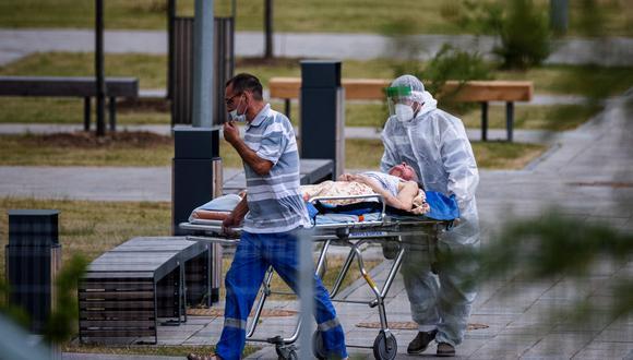 Coronavirus en Rusia   Últimas noticias   Último minuto: reporte de infectados y muertos por COVID-19 hoy, martes 6 de julio del 2021. (Foto: Dimitar DILKOFF / AFP).