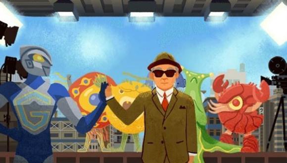 Eiji Tsuburaya: el padre de Godzilla en un doodle de Google