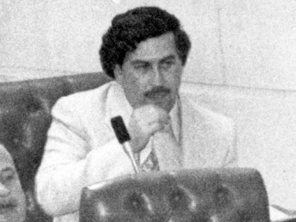 Carlos Lehder conoce los nexos que sectores políticos tuvieron con el extinto capo Pablo Escobar, quien en 1983 ocupó una curul en el Congreso. (Foto: Archivo / EL TIEMPO).