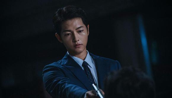 """El K-drama """"Vincenzo"""", ve a Song Joong-ki como Park Joo-hung, un niño que se mudó a Corea desde Italia y es adoptado por la mafia. (Foto: Netflix)"""