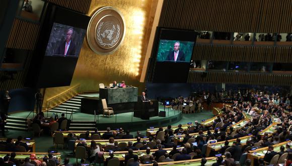 La Asamblea General de la ONU en vivo