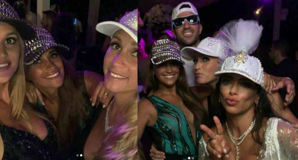 Instagram: video muestra cómo celebró Antonella Roccuzzo en la boda de Fábregas
