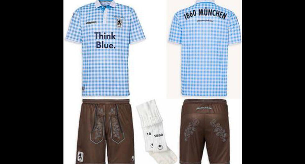 Equipo alemán usará extraña camiseta con motivo del Oktoberfest
