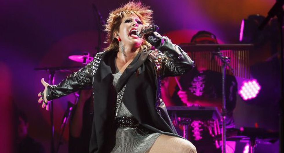 Alejandra Guzmán pasó incómodo momento durante concierto