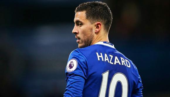 Eden Hazard se ha convertido en el deportista de moda a base de sus golazos de fantasía, esos mismos que desea llevar al Real Madrid, el equipo de sus sueños. (Foto: AFP)