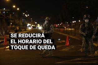 Coronavirus en Perú: Horario del toque de queda será desde las 00:00 hasta las 04:00 horas
