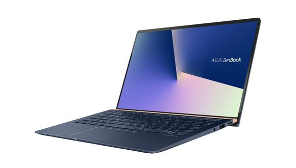 La ZenBook 14 es una de las últimas laptops de la marca asiática Asus. (Difusión)