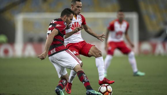 Flamengo recibirá al Santa Fe este miércoles (7:45 p.m. EN VIVO ONLINE por FOX Sports) por la tercera fecha del Grupo 4 de la Copa Libertadores. (Foto: EFE)