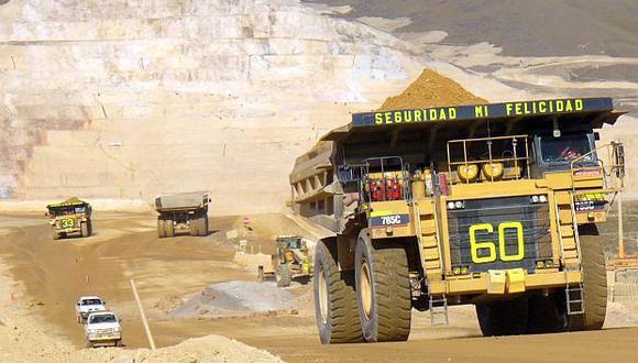 Lamayor actividad minera en el país tendrá un impacto positivo en otros rubros como construcción, transporte y servicios de almacenamiento. (Foto: GEC)