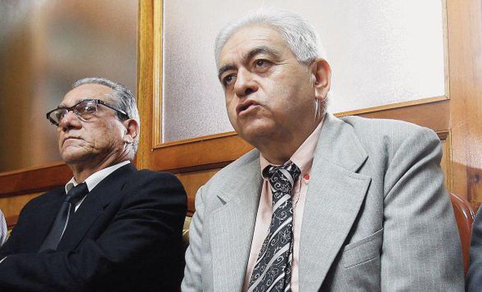 Los dirigentes del Movadef Alfredo Crespo y Manuel Fajardo ejercen actualmente la defensa de Abimael Guzmán en el Caso Tarata. (Foto: Paco Sanseviero / El Comercio)