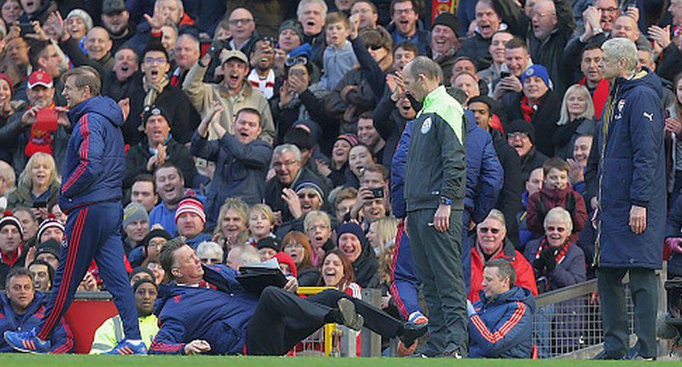 Louis van Gaal y su show en el triunfo del Manchester United - 4