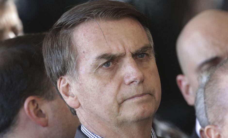 Jair Bolsonaro dice que se acabaron los indultos a presos en Brasil. (AP).