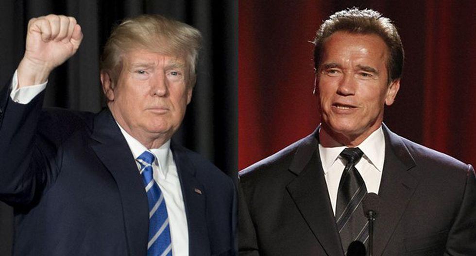 Donald Trump respondió así a Arnold Schwarzenegger