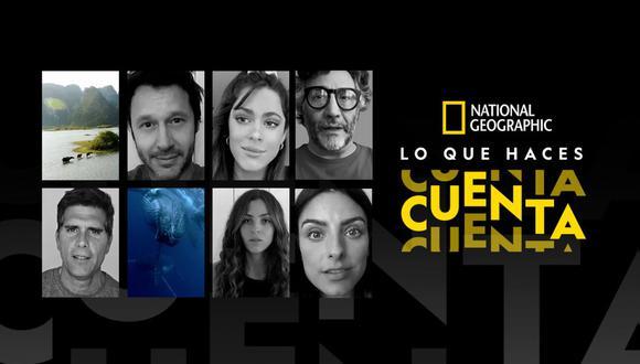 """Christian Meier aparecerá en cortometraje de la National Geographic """"Lo que haces cuenta"""". (Foto: National Geographic)"""